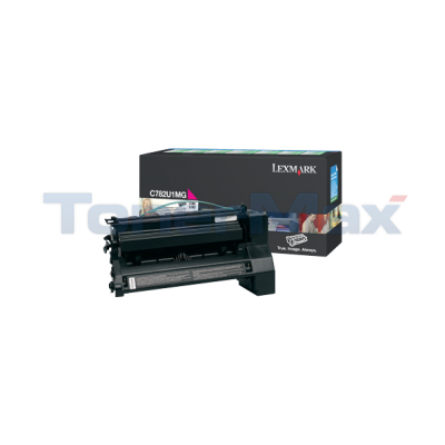 LEXMARK C782 XL PRINT CARTRIDGE MAGENTA RP 16.5K